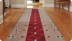 Style and protect your floors with runner rugs